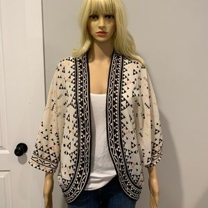 Ecote Geo print kimono